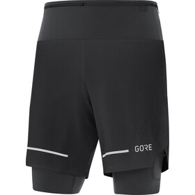 GORE WEAR Ultimate 2in1 Shorts Men, black